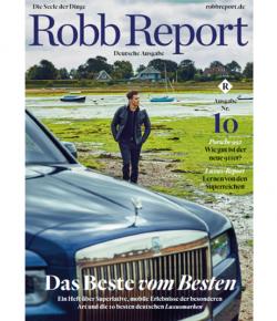 Ranking TOP 50 deutsche Luxusunternehmen im Robb Report