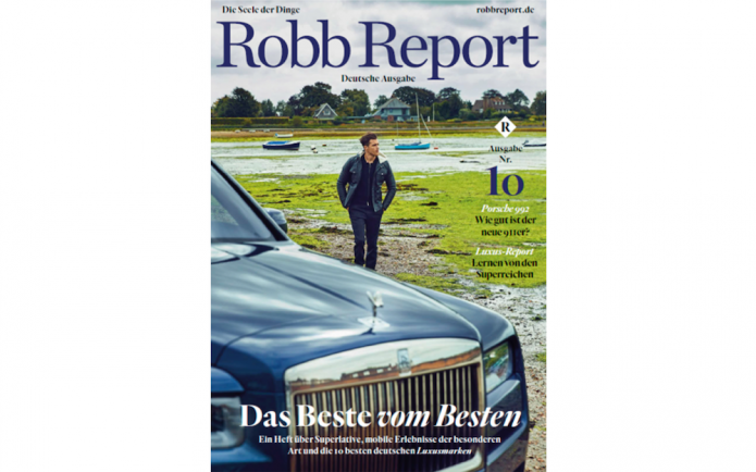 Robb Report TOP 50 Ranking Luxus KEYLENS INLUX 2018