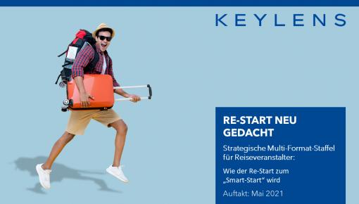 Smarter Re-Start für die Touristik: KEYLENS Multiformatstaffel ab Mai 2021
