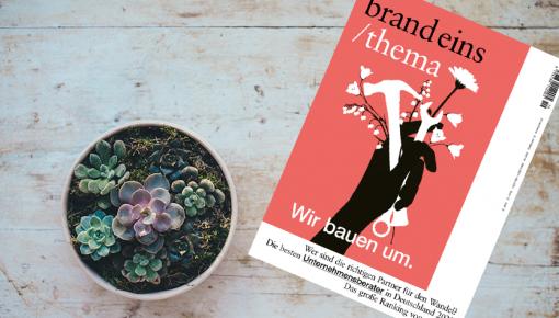 Presse: brand eins – KEYLENS auch 2021 als eine der besten Beratungen in Deutschland ausgezeichnet